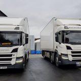 2 Scania på Vågen red